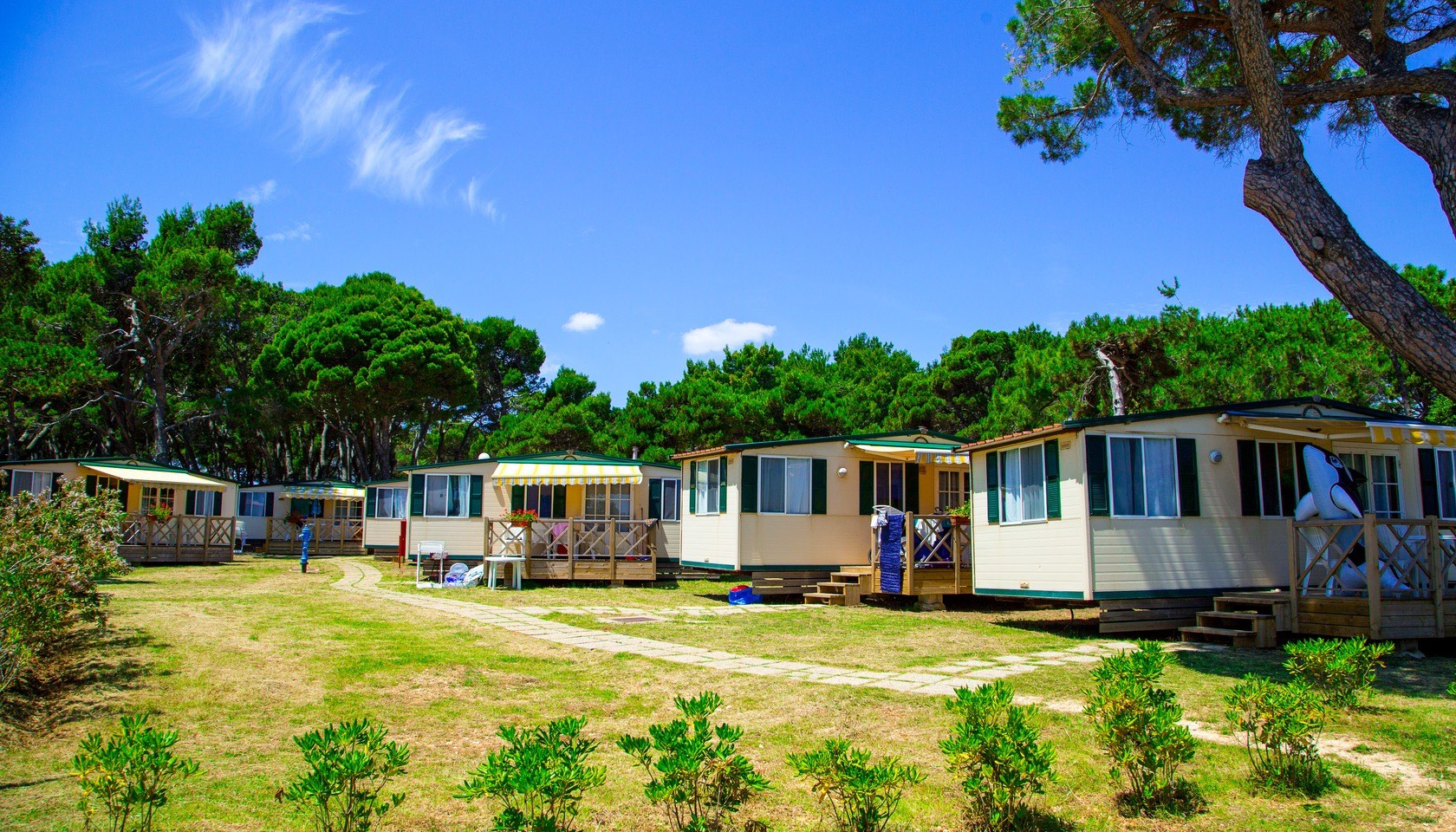 Mobile homes arena medulin arenacamps for Mobiles wohnhaus